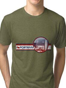 I [heart] Fortran Tri-blend T-Shirt