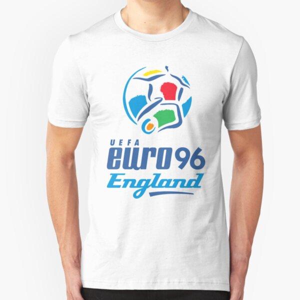 Euro 96 Logo Slim Fit T-Shirt