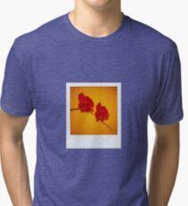orchid polaroid Tri-blend T-Shirt