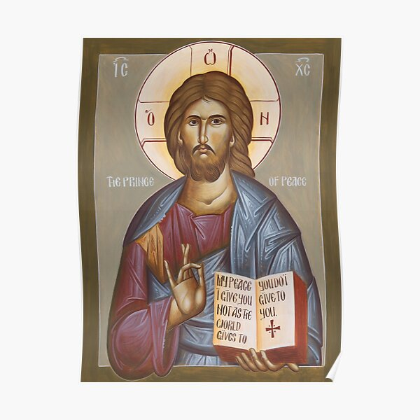 Jesus Christ Prince of Peace Poster