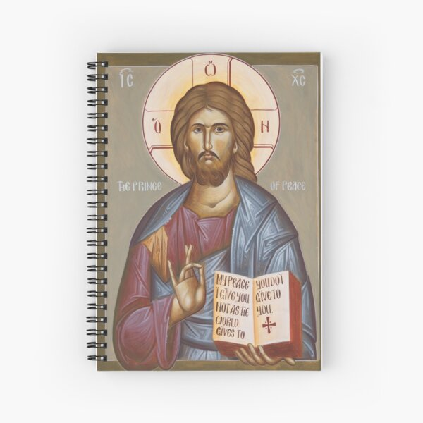 Jesus Christ Prince of Peace Spiral Notebook