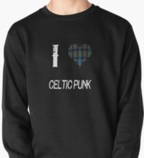 I love Celtic Punk for the Proud Scot heart Plaid Shirt Pullover