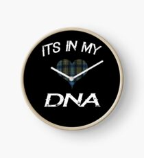 Its in my DNA I love Scotland Rugby for the Proud Scot Clock