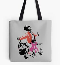 The Greatest Showman Silhouette Tote Bag