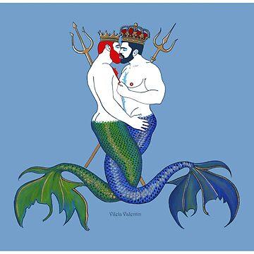 Indischer und Pazifischer Ozean by vilelavalentin