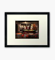 Hobby - Pool - The billiards club 1915 Framed Print
