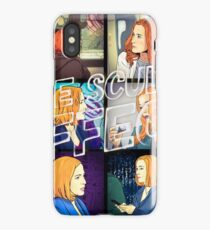 Xf the Scully Effect by Mimie iPhone Case/Skin