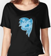 MLP Rainbow Dash Smile Women's Relaxed Fit T-Shirt