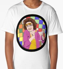 Beverly Ginsberg Synaesthesia (from Ronna and Beverly) Long T-Shirt
