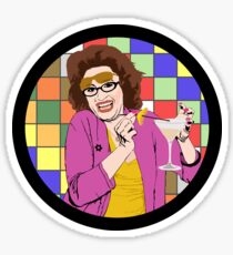 Beverly Ginsberg Synaesthesia (from Ronna and Beverly) Sticker