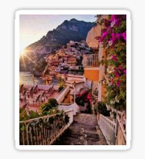 Positano, beauty of Italy Sticker