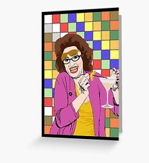Beverly Ginsberg Synaesthesia (from Ronna and Beverly) Greeting Card