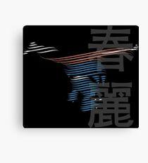 ChunLi Street Fighter Canvas Print