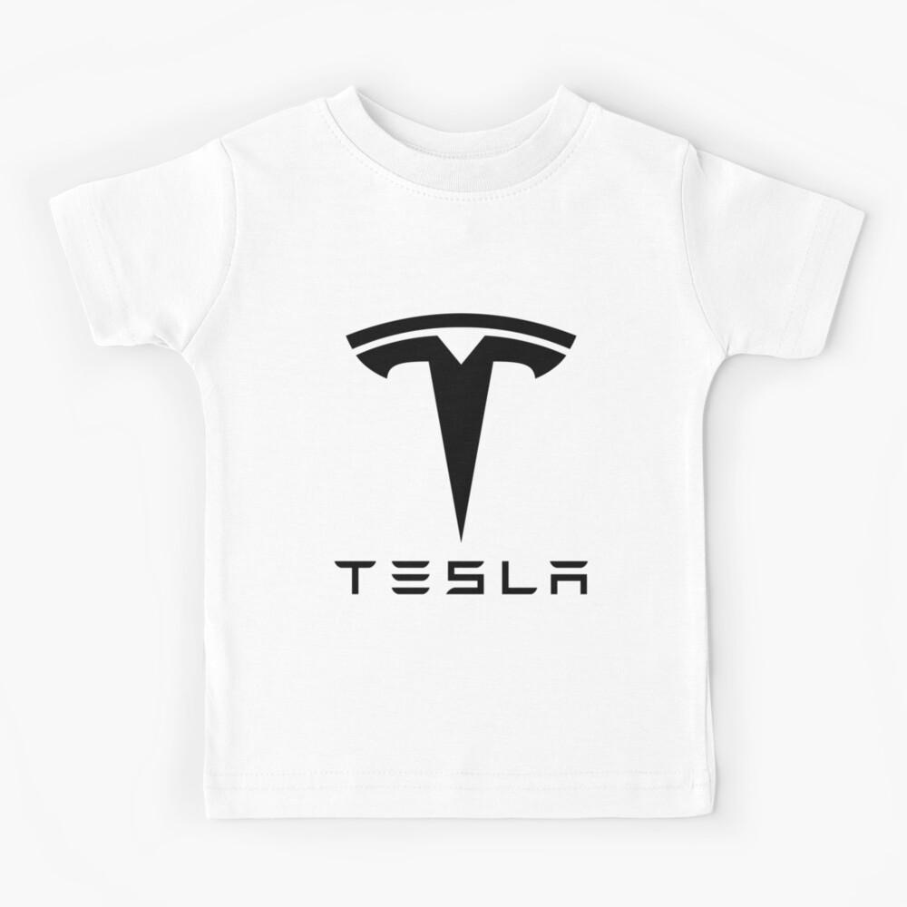 tesla car Kids T-Shirt
