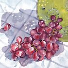 Red Grapes by Ann Nightingale