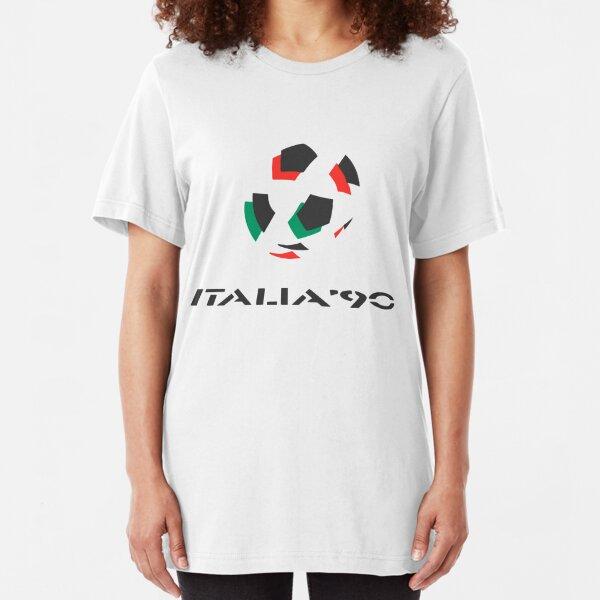Italia 90 Logo Slim Fit T-Shirt