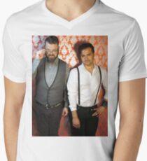 Naked Highway Men's V-Neck T-Shirt