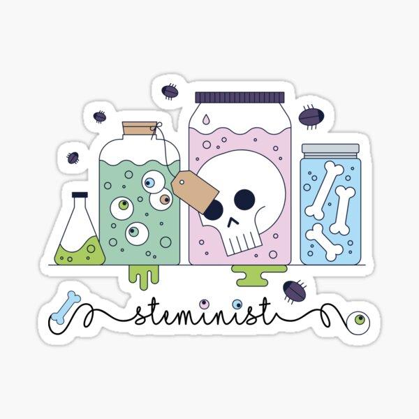 steminist women in stem science  Sticker