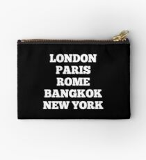 Bangkok t-shirts and products Studio Pouch