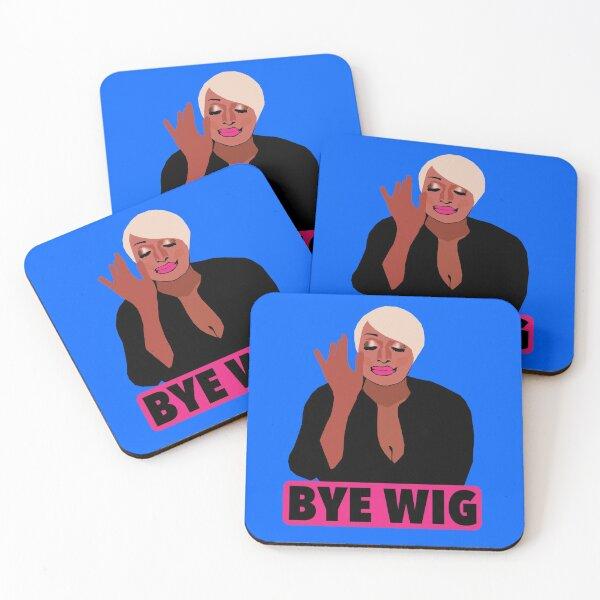 NENE LEAKES  |  Bye Wig  |  RHOA  (Real Housewives of Atlanta) Coasters (Set of 4)
