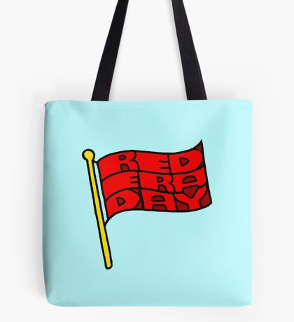 Red Era Day Tote Bag
