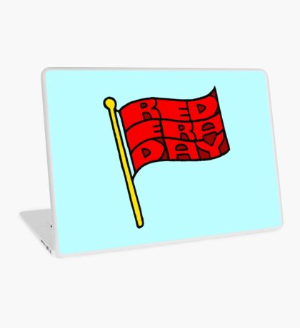 Red Era Day Laptop Skin