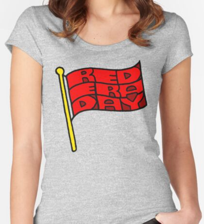 Red Era Day Women's Fitted Scoop T-Shirt