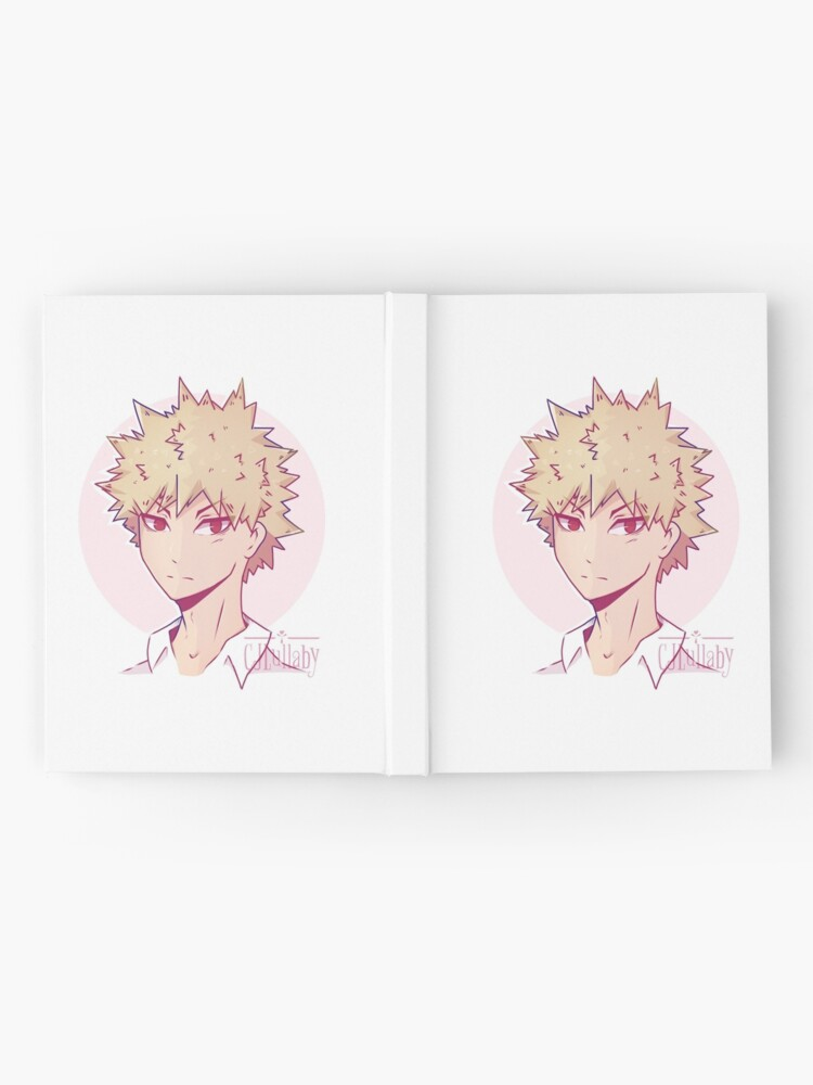 Bakugou Bnha Fanart Drawing Hardcover Journal By Cjlullaby Redbubble