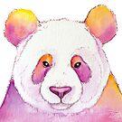 « Panda coloré » par PerenArt