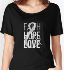 Faith Hope & Love | Christian Design Women's Relaxed Fit T-Shirt