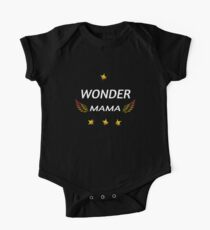 Wonder Mama Mother's Day Mom One Piece - Short Sleeve
