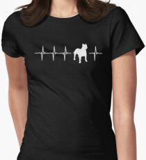 American Staffordshire Terrier Gift Dog Women's Fitted T-Shirt