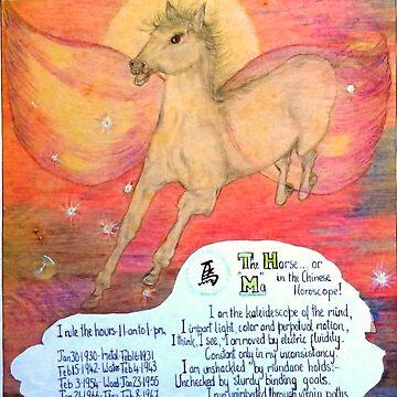 the horse, ;- chinese horoscopes, your year by MardiGCalero