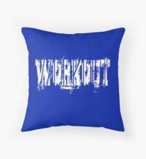 Workout Unisex Floor Pillow