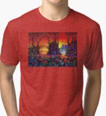 Red Jungle Tri-blend T-Shirt