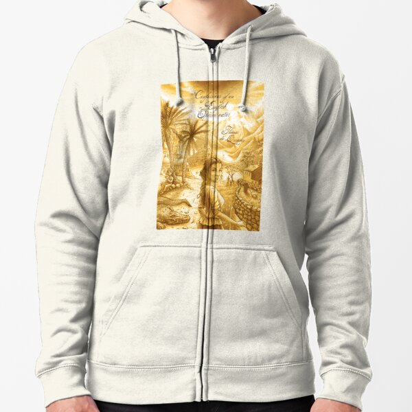 Thomas De Quincey's Confessions of an English Opium-Eater Zipped Hoodie