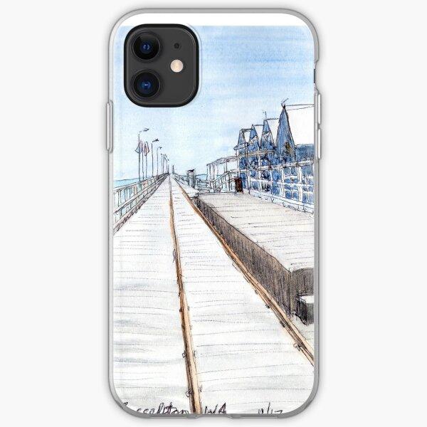 Busselton Jetty, WA, Aus. iPhone Soft Case