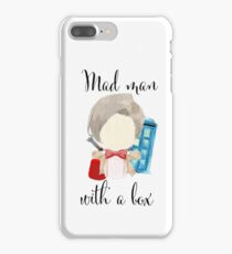 A mad man with a box · doctor who iPhone 7 Plus Case