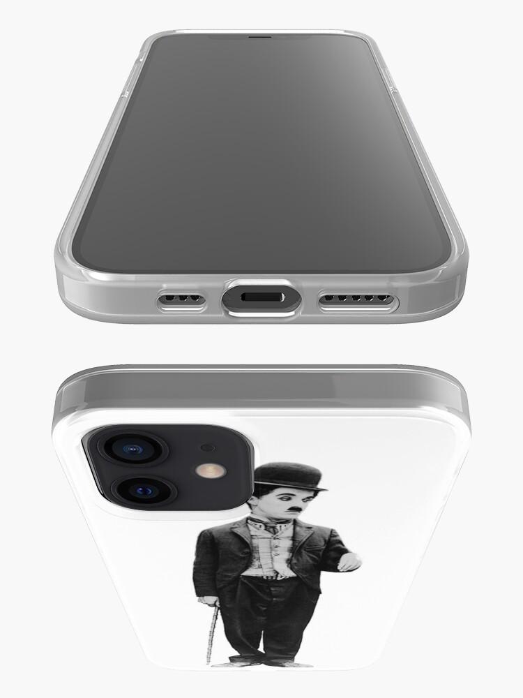 Vista alternativa de Funda y vinilo para iPhone Charlie Chaplin