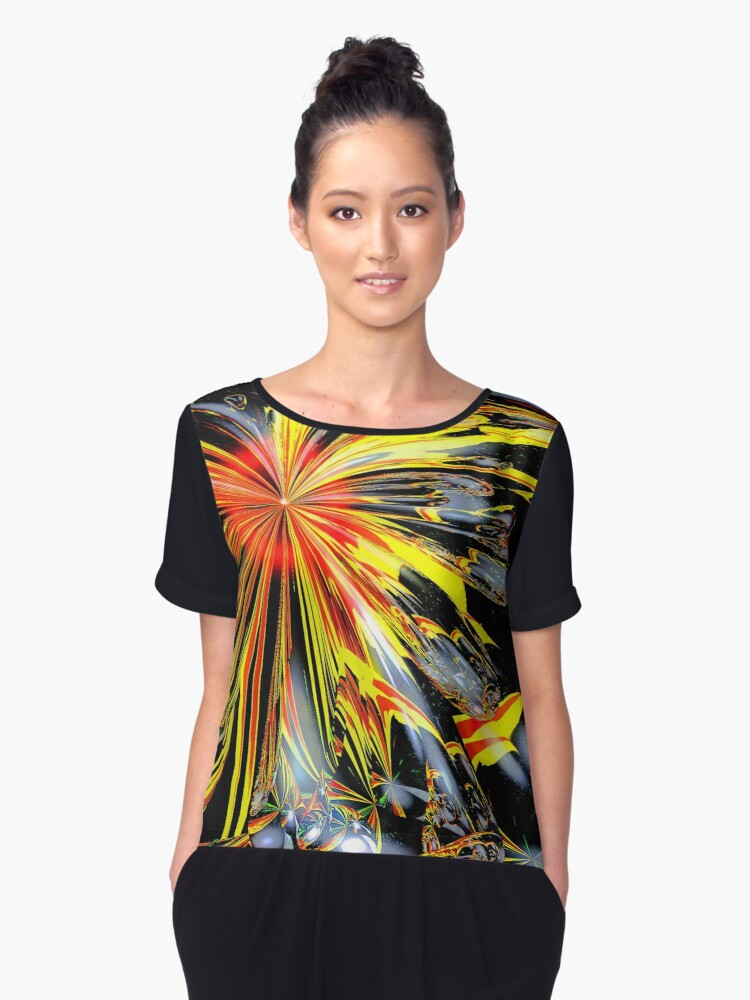 New Creation Women's Chiffon Top Front