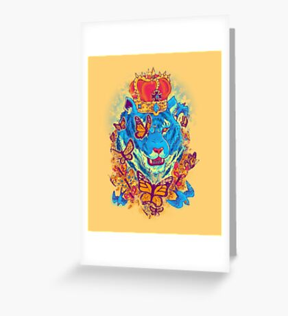 The Siberian Monarch Greeting Card