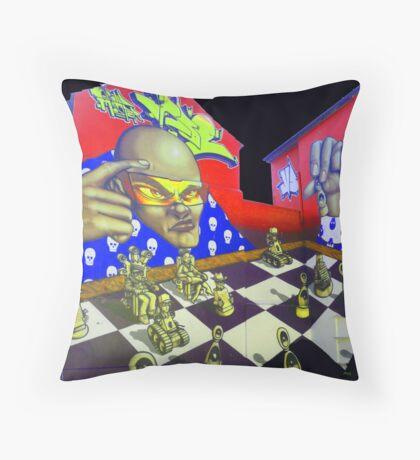 """""""Brighton Street Art"""" Throw Pillow"""