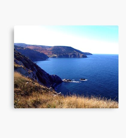 Cliffs of Meat Cove Canvas Print