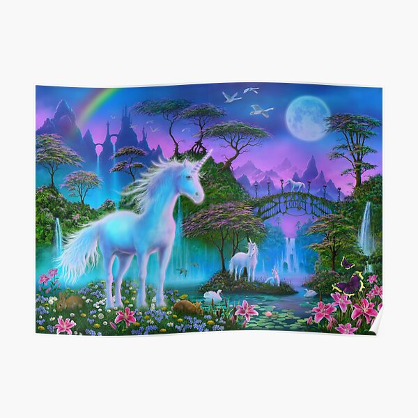 Unicorn Bridge Poster