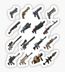 Fornite Battle Royale: Weapons Sticker Pack Sticker