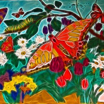 Butterflies are free by tkrosevear