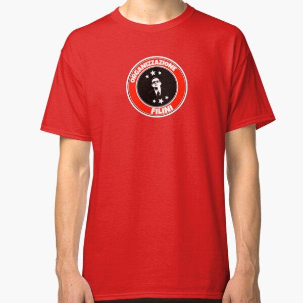 T-Shirt Filini Paolo Villaggio Maglietta Fantozzi