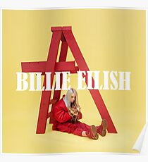 Billie Eilish Merchandise Poster