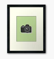 For the Love of Camera Framed Print
