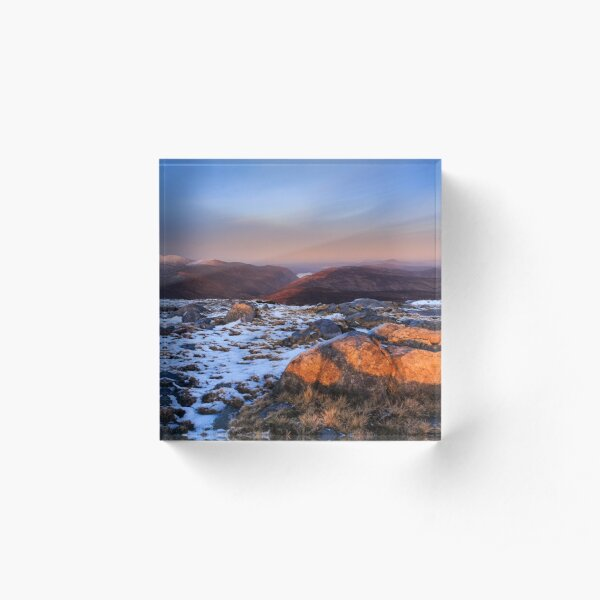 Moylenanav Sunset Acrylic Block